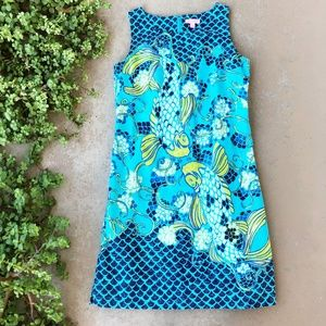 Lilly Pulitzer Don't Be Koi Stephanie Sheath Dress